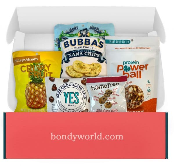 BondyYUM Plant Power Snack Gift Box